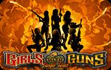 Играть в автомат бесплатно Девушки с Оружием
